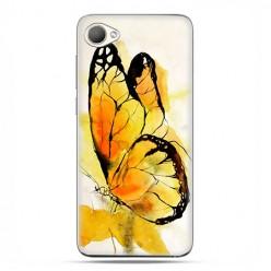 HTC Desire 12 - etui na telefon z grafiką - Motyl watercolor.