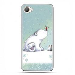 HTC Desire 12 - etui na telefon z grafiką - Polarne zwierzaki.
