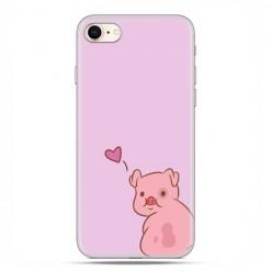 Apple iPhone 8 - etui case na telefon - Zakochana świnka