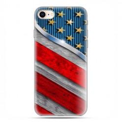 Apple iPhone 8 - etui case na telefon - Amerykańskie barwy