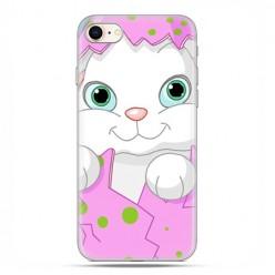 Apple iPhone 8 - etui case na telefon - Różowy królik