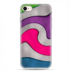Apple iPhone 8 - etui case na telefon - Kolorowa roztopiona plastelina