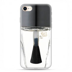 Apple iPhone 8 - etui case na telefon - Bezbarwny lakier do paznokci
