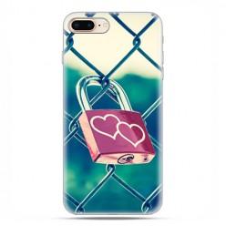 Apple iPhone 8 - etui case na telefon - Kłódka symbol wiecznej miłości