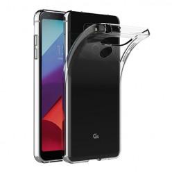 LG G6 - silikonowe etui na telefon Clear Case - przezroczyste.