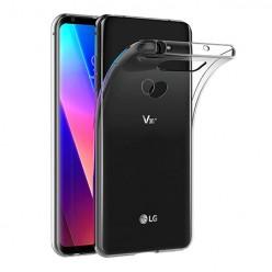 LG V30 - silikonowe etui na telefon Clear Case - przezroczyste.