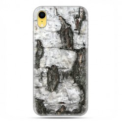 Apple iPhone XR - etui na telefon - Drzewo pień brzozy