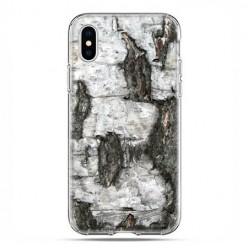 Apple iPhone Xs Max - etui na telefon - Drzewo pień brzozy