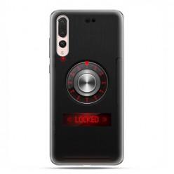 Huawei P20 Pro - silikonowe etui na telefon - Elektroniczny sejf
