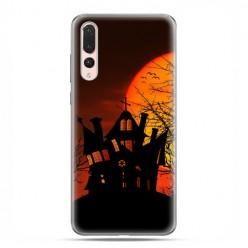 Huawei P20 Pro - silikonowe etui na telefon - Straszny dwór Halloween