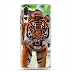 Huawei P20 Pro - silikonowe etui na telefon - Dumny tygrys