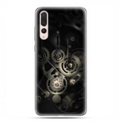 Huawei P20 Pro - silikonowe etui na telefon - Wnętrze zegara