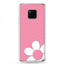 Huawei Mate 20 Pro - nakładka etui na telefon - Różowa stokrotka