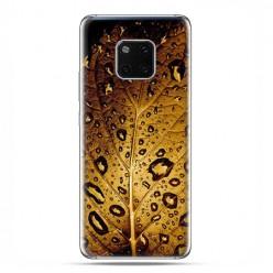 Huawei Mate 20 Pro - nakładka etui na telefon - Złoty liść