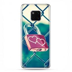 Huawei Mate 20 Pro - nakładka etui na telefon - Kłódka symbol wiecznej miłości