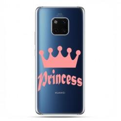 Huawei Mate 20 Pro - nakładka etui na telefon - Princess z różową koroną