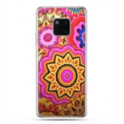 Huawei Mate 20 Pro - nakładka etui na telefon - Słoneczna mandala