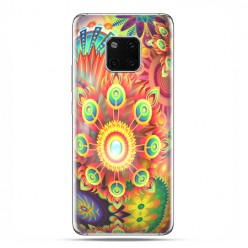 Huawei Mate 20 Pro - nakładka etui na telefon - Ognista rozeta