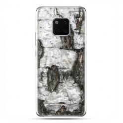 Huawei Mate 20 Pro - nakładka etui na telefon - Drzewo pień brzozy