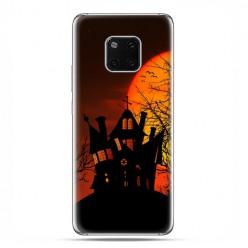 Huawei Mate 20 Pro - nakładka etui na telefon - Straszny dwór Halloween