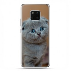 Huawei Mate 20 Pro - nakładka etui na telefon - Smutna mała kicia
