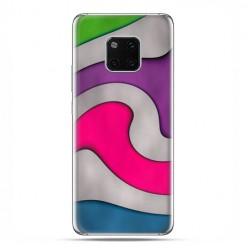 Huawei Mate 20 Pro - nakładka etui na telefon - Kolorowa roztopiona plastelina