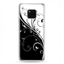 Huawei Mate 20 Pro - nakładka etui na telefon - Kwiatowe Tai Chi