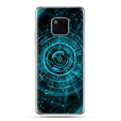 Huawei Mate 20 Pro - nakładka etui na telefon - Futurystyczny schemat