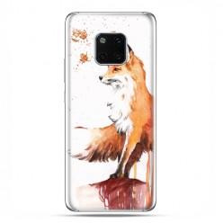 Huawei Mate 20 Pro - nakładka etui na telefon - Pastelowy lisek