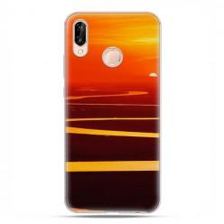 Huawei P20 Lite - etui na telefon - Zachód słońca nad Amazonką