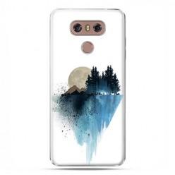 LG G6 - etui na telefon z grafiką - Górski krajobraz.