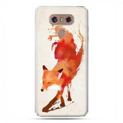 LG G6 - etui na telefon z grafiką - Watercolor Lis.