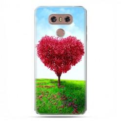 LG G6 - etui na telefon z grafiką - Serce z drzewa.