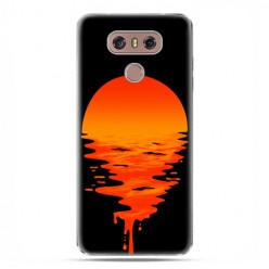 LG G6 - etui na telefon z grafiką - Zachodzące słońce.