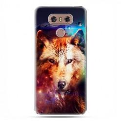 LG G6 - etui na telefon z grafiką - Wilk z galaktyki.