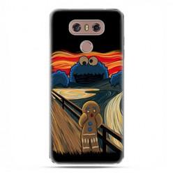 LG G6 - etui na telefon z grafiką - Parodia obrazu krzyk.