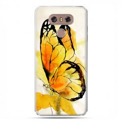 LG G6 - etui na telefon z grafiką - Motyl watercolor.