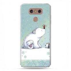 LG G6 - etui na telefon z grafiką - Polarne zwierzaki.