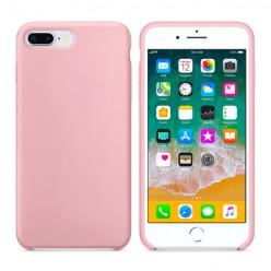 Apple iPhone 7 Plus - Matowe silikonowe etui Silicone Case - różowy pokrowiec