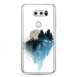 LG V30 - etui na telefon z grafiką - Górski krajobraz.