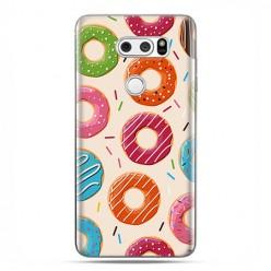 LG V30 - etui na telefon z grafiką - Kolorowe pączki.