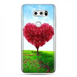 LG V30 - etui na telefon z grafiką - Serce z drzewa.