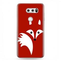 LG V30 - etui na telefon z grafiką - Czerwony lisek.