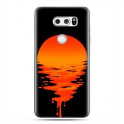 LG V30 - etui na telefon z grafiką - Zachodzące słońce.