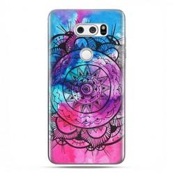 LG V30 - etui na telefon z grafiką - Rozeta watercolor.