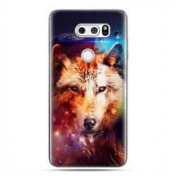 LG V30 - etui na telefon z grafiką - Wilk z galaktyki.