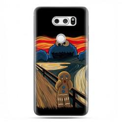LG V30 - etui na telefon z grafiką - Parodia obrazu krzyk.