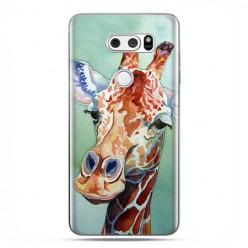 LG V30 - etui na telefon z grafiką - Żyrafa watercolor.