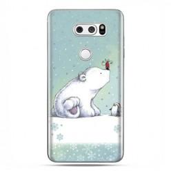LG V30 - etui na telefon z grafiką - Polarne zwierzaki.