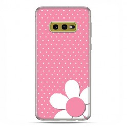 Samsung Galaxy S10e - etui na telefon z grafiką - Różowa stokrotka
